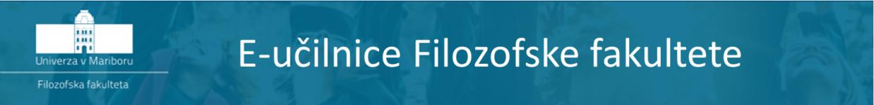Logo of Moodle Filozofske fakultete UM